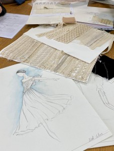 Sketches by Iñaki Cobos for the costumes of José Carlos Martínez's Giselle for the Ballet of the National Theater of Croatia